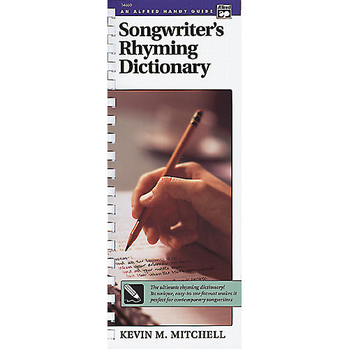 Alfred Songwriter's Rhyming Dictionary Book-thumbnail