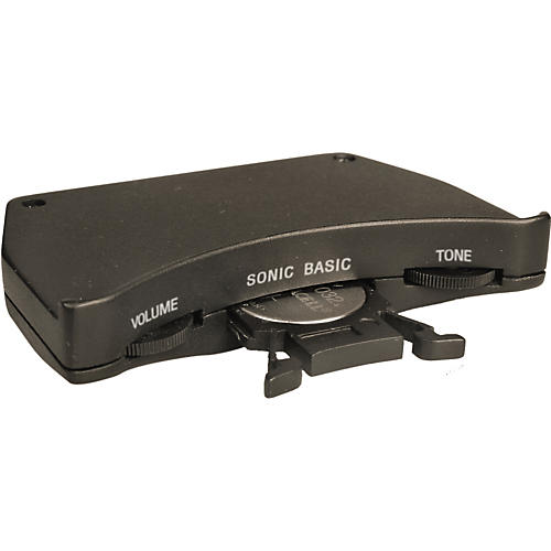 Shadow Sonic Basic Passive Acousic Guitar Soundhole Preamp with Nanoflex Undersaddle Pickup