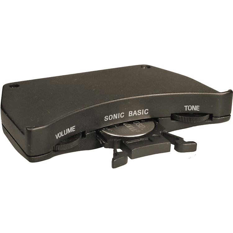 ShadowSonic Basic Passive Acousic Guitar Soundhole Preamp with Nanoflex Undersaddle Pickup