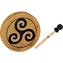 Meinl Sonic Energy HOD15-TR 15-Inch Native American Style Hoop Drum, Triskele Symbol