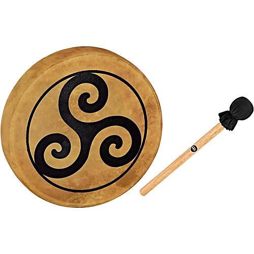 Meinl Sonic Energy HOD15-TR 15-Inch Native American Style Hoop Drum, Triskele Symbol-thumbnail