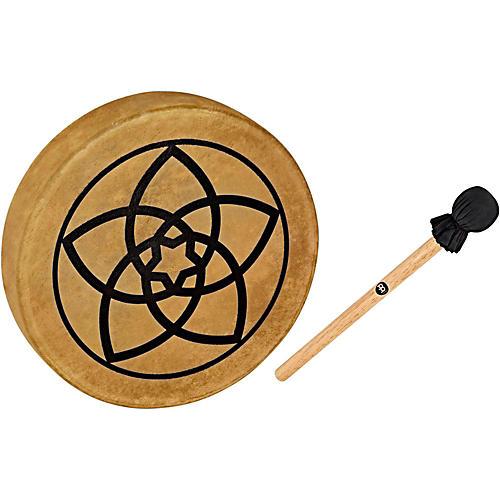 Meinl Sonic Energy HOD15-VF 15-Inch Native American Style Hoop Drum, Venus Flower Symbol-thumbnail