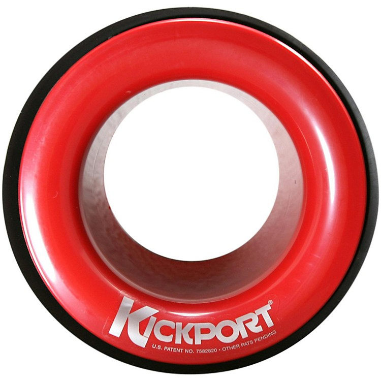 Kickport Sonic Enhancement Insert for Bass Drum Red
