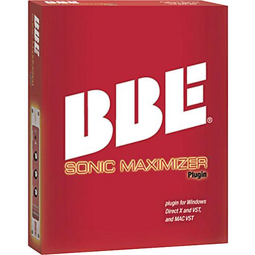 BBE Sonic Maximizer Plug-In