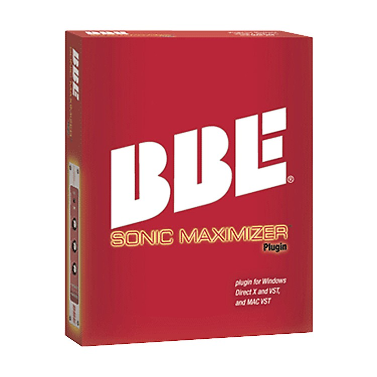 BBE Sonic Maximizer Plug-In