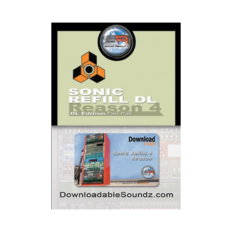 Sonic RealitySonic ReFill DL Flex Pak with Download Card