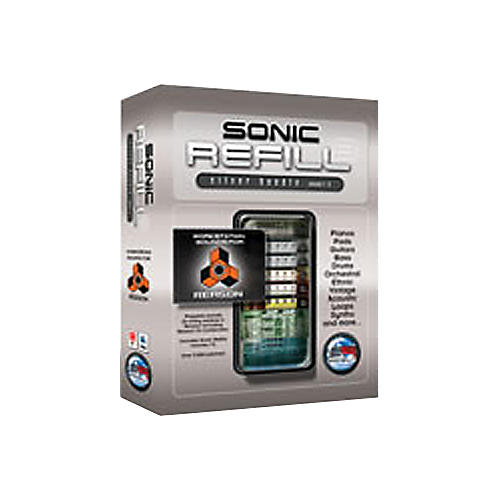 Sonic Reality Sonic Refill Silver Bundle Vol. 1-5