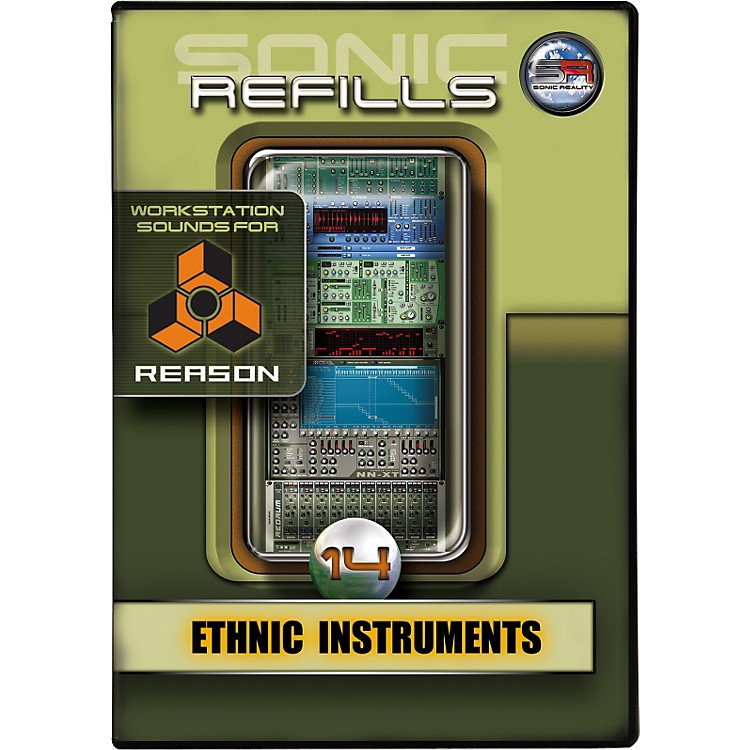 Sonic Reality Sonic Refill for Reason Volume 14 - Ethnic Instruments