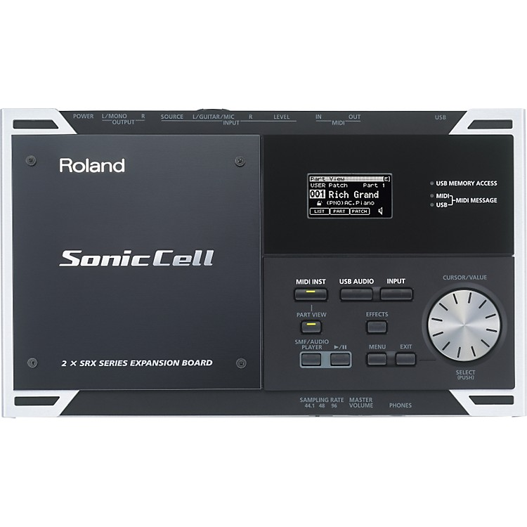 Roland SonicCell 128-Voice Expandable Synth Module with Audio Interface