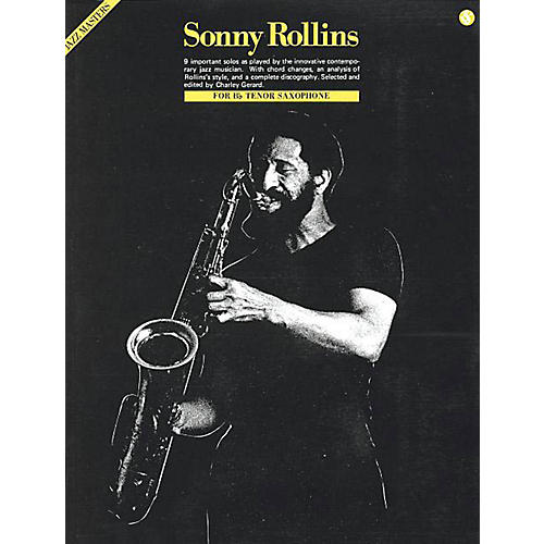 Music Sales Sonny Rollins - Jazz Masters Series Music Sales America Series Performed by Sonny Rollins-thumbnail