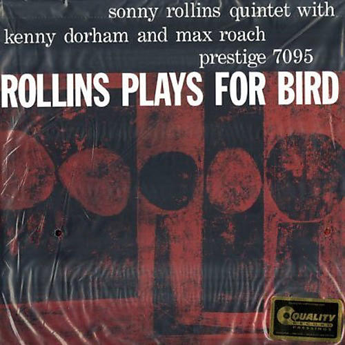 Alliance Sonny Rollins - Rollins Plays for Bird
