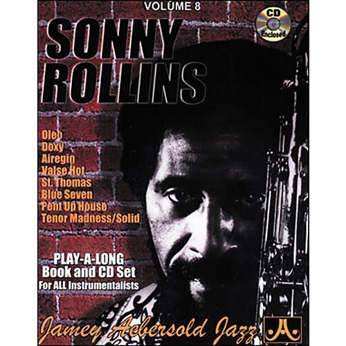Jamey Aebersold Sonny Rollins Play-Along Book and CD