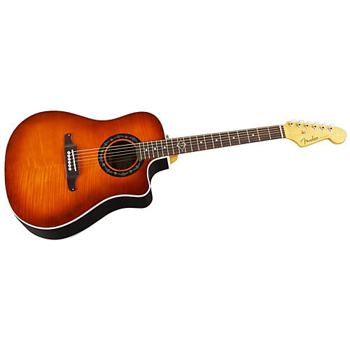 fender sonoran bucket acoustic electric guitar musician 39 s friend. Black Bedroom Furniture Sets. Home Design Ideas