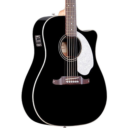Fender Sonoran SCE Acoustic-Electric Guitar Black