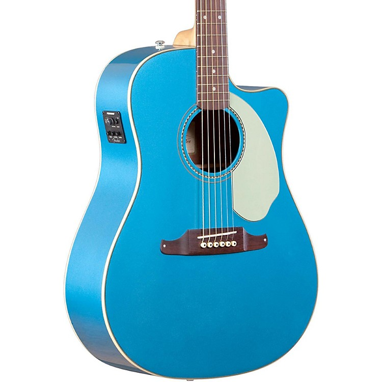 Fender Sonoran SCE Acoustic-Electric Guitar Lake Placid Blue
