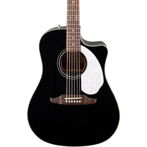 fender sonoran sce v2 acoustic electric guitar black musician 39 s friend. Black Bedroom Furniture Sets. Home Design Ideas