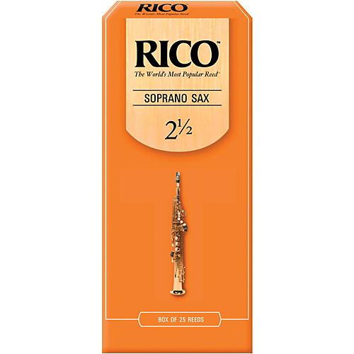 Rico Soprano Saxophone Reeds, Box of 25 Strength 3