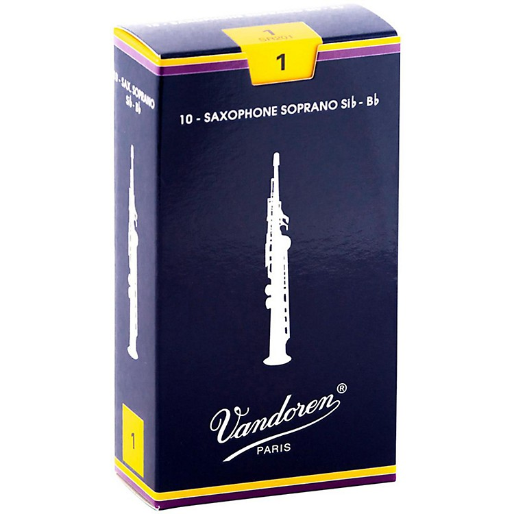 Vandoren Soprano Saxophone Reeds Strength 2 Box of 10