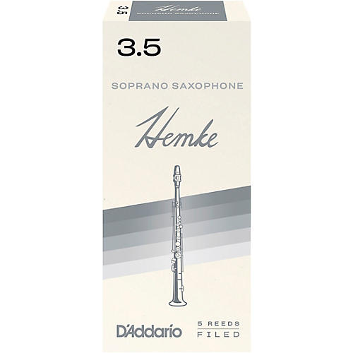 Frederick Hemke Soprano Saxophone Reeds Strength 3.5 Box of 5