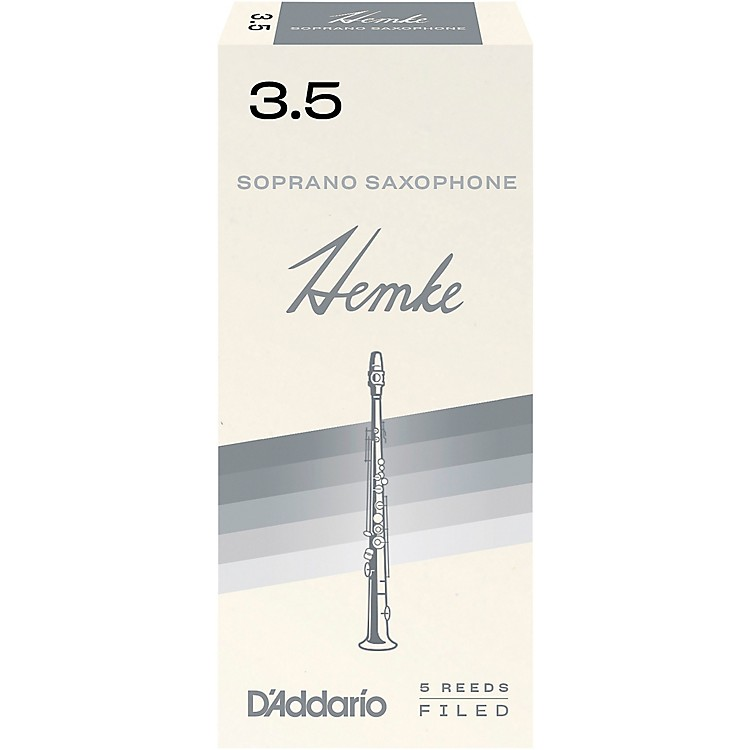 Frederick Hemke Soprano Saxophone Reeds Strength 3.5 Box of 5