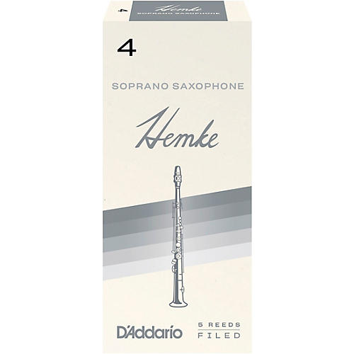 Frederick Hemke Soprano Saxophone Reeds Strength 4 Box of 5