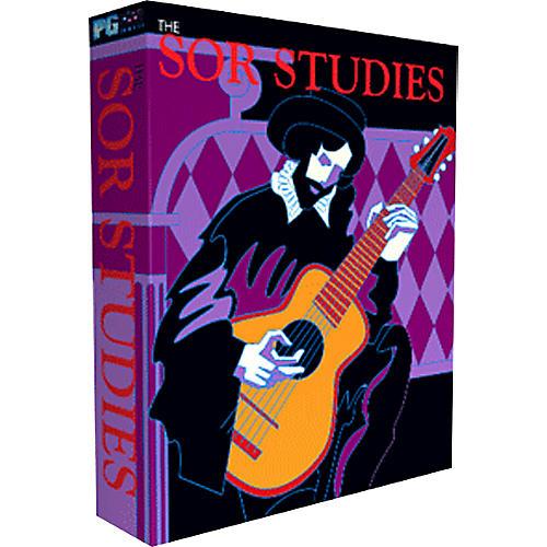 PG Music Sor Studies for Classical Guitar Multimedia Music Program-thumbnail