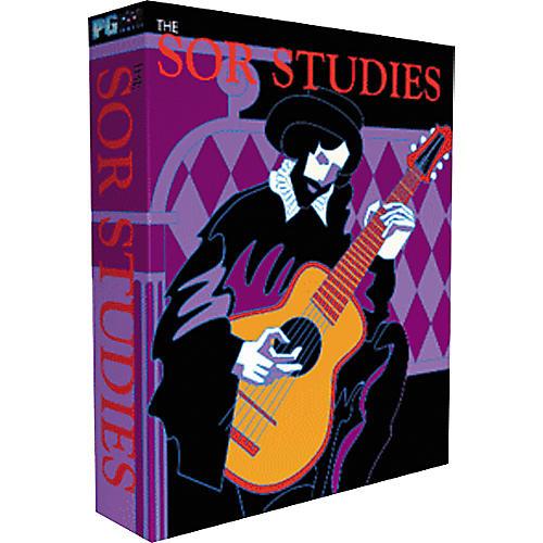 PG Music Sor Studies for Classical Guitar