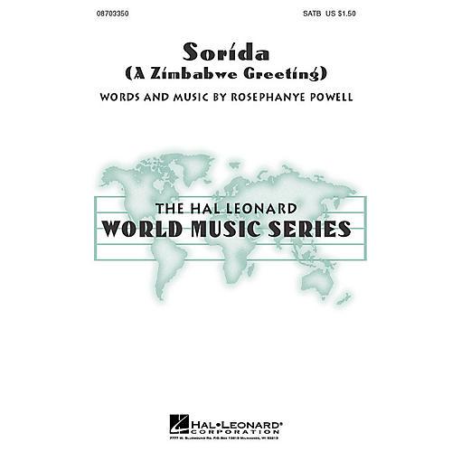 Hal Leonard Sorida (A Zimbabwe Greeting) SATB composed by Rosephanye Powell-thumbnail