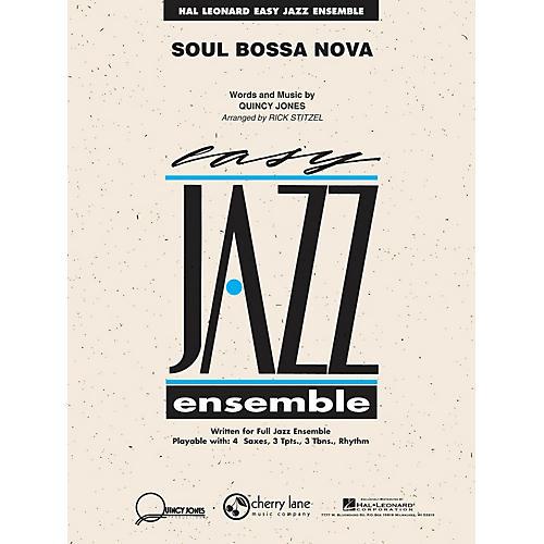 Cherry Lane Soul Bossa Nova Jazz Band Level 2 Arranged by Rick Stitzel-thumbnail