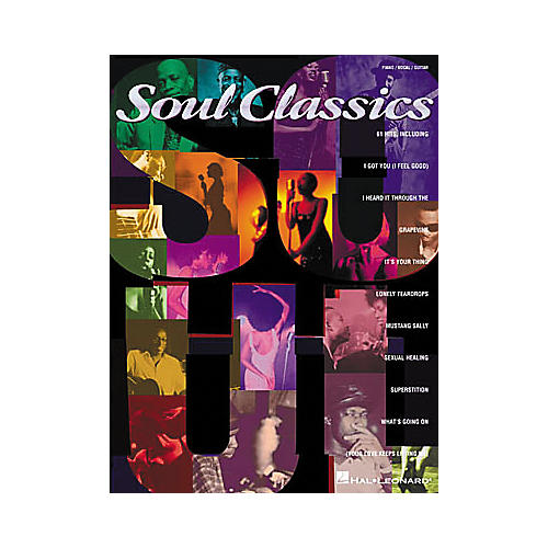 Hal Leonard Soul Classics Book-thumbnail