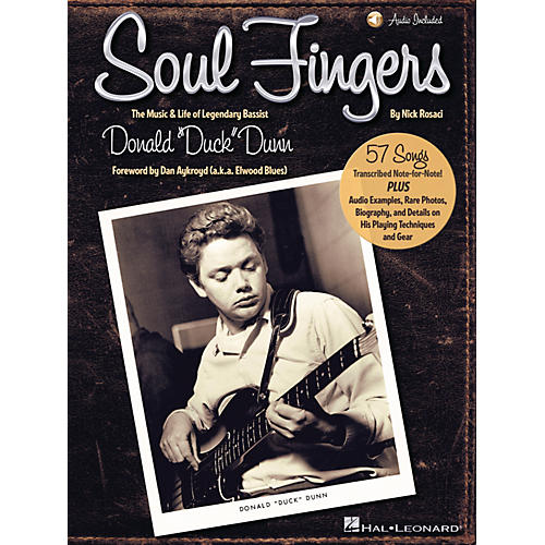 Hal Leonard Soul Fingers Bass Series Softcover Audio Online Written by Nick Rosaci-thumbnail