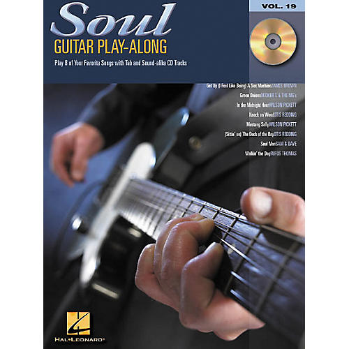 Hal Leonard Soul Guitar Play-Along Series Book with CD