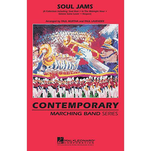 Hal Leonard Soul Jams Marching Band Level 3 Arranged by Paul Lavender-thumbnail
