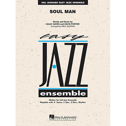 Hal Leonard Soul Man (Includes Online Audio Backing Tracks) Jazz Band Level 2 Arranged by Paul Murtha