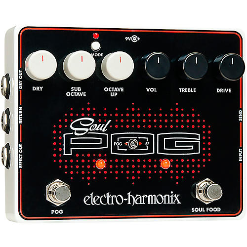 electro harmonix soul pog multi effects guitar pedal musician 39 s friend. Black Bedroom Furniture Sets. Home Design Ideas