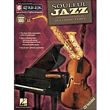 Hal Leonard Soulful Jazz - Jazz Play-Along Volume 105 (CD/Pkg)