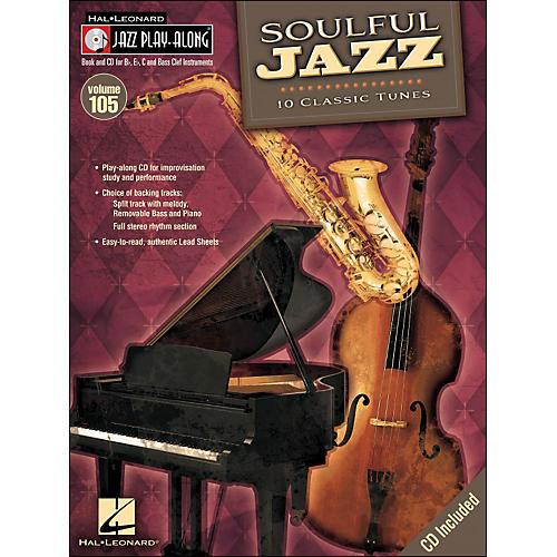 Hal Leonard Soulful Jazz - Jazz Play-Along Volume 105 (CD/Pkg)-thumbnail
