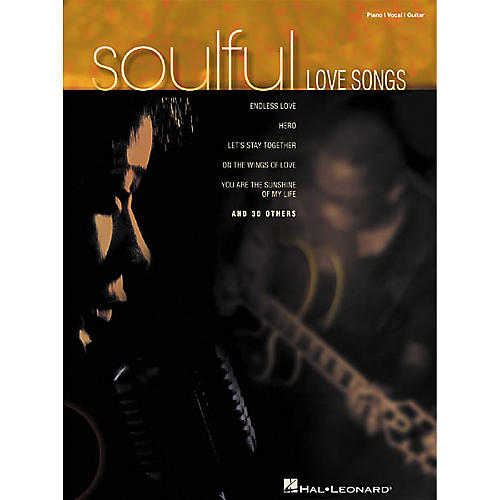 Hal Leonard Soulful Love Songs Piano, Vocal, Guitar Songbook