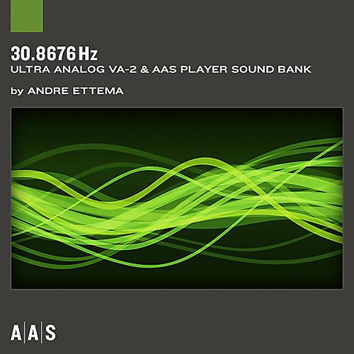 AAS Sound Bank Series Ultra Analog VA-2 - 30.8676 Hz Software Download