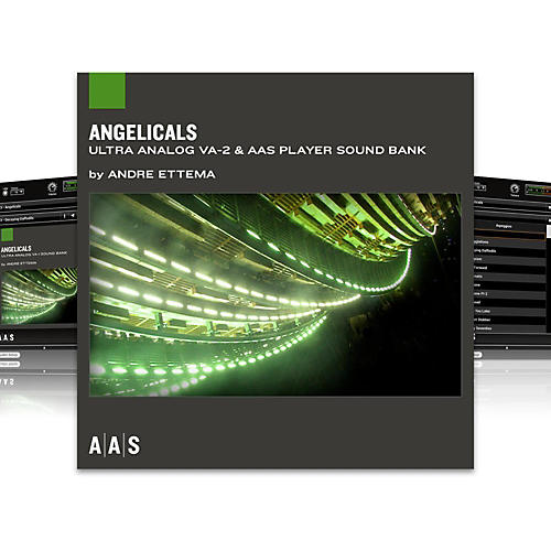 Applied Acoustics Systems Sound Bank Series Ultra Analog VA-2 - Angelicals-thumbnail