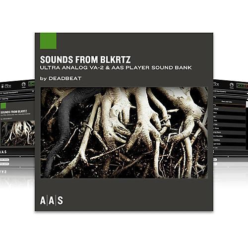 AAS Sound Bank Series Ultra Analog VA-2 - Sounds from BLKRTZ