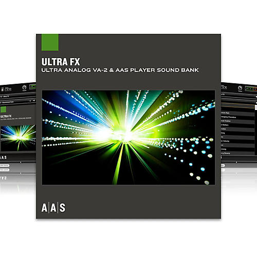Applied Acoustics Systems Sound Bank Series Ultra Analog VA-2 - Ultra FX-thumbnail