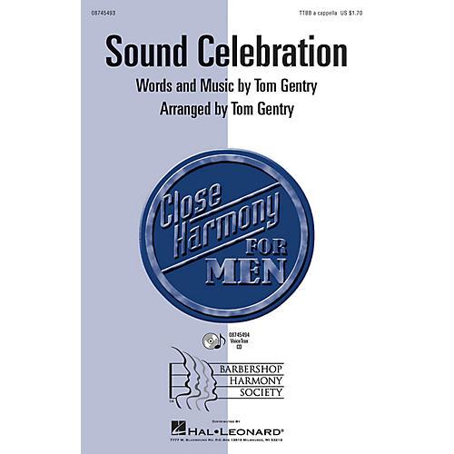 Hal Leonard Sound Celebration TTBB A Cappella arranged by Tom Gentry-thumbnail