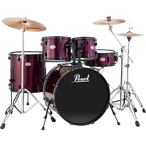 Pearl Sound Check 5-Piece Drum Set with Cymbals and Hardware