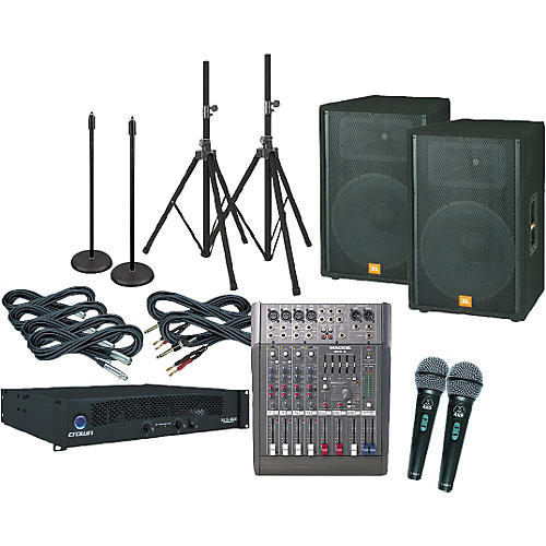 JBL Sound Factor 15 PA Package