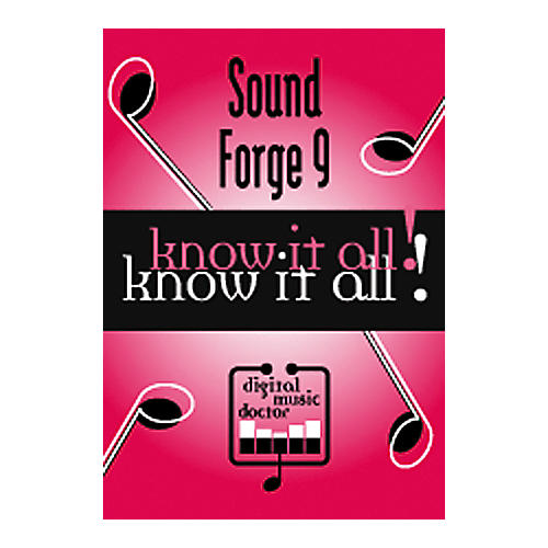 Digital Music Doctor Sound Forge 9 - Know It All! DVD-thumbnail