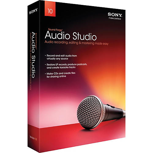 Sony Sound Forge Audio Studio 10 - 2011