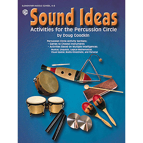 Alfred Sound Ideas Activities for the Percussion Circle Book-thumbnail