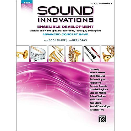 Alfred Sound Innovations Concert Band Ensemble Development Advanced Alto Saxophone 2-thumbnail