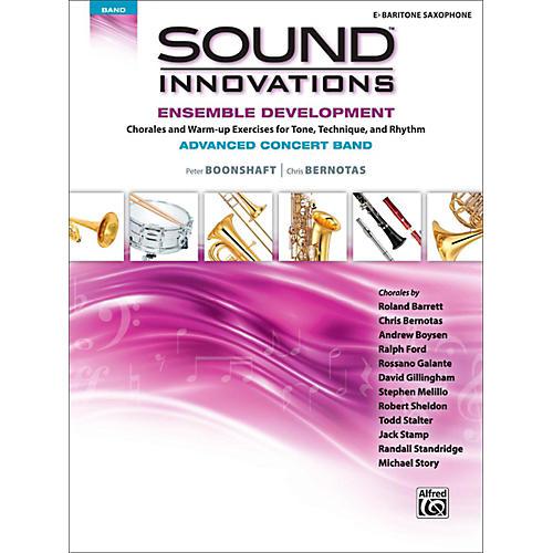 Alfred Sound Innovations Concert Band Ensemble Development Advanced Baritone Saxophone-thumbnail